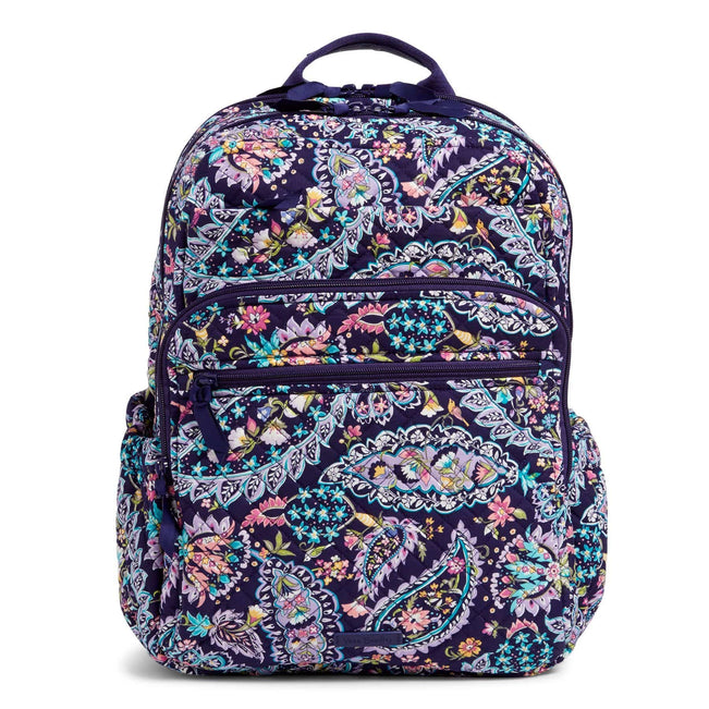 XL Campus Backpack-French Paisley-Image 1-Vera Bradley