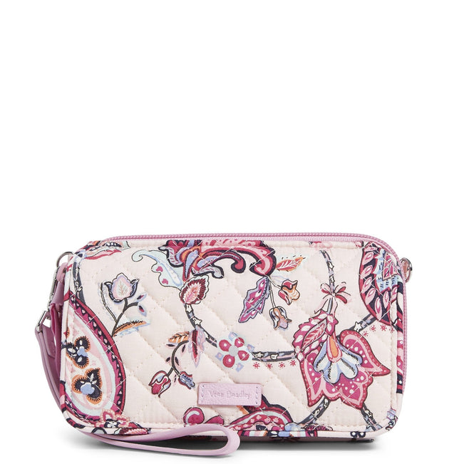 RFID All in One Crossbody-Felicity Paisley Pink-Image 1-Vera Bradley