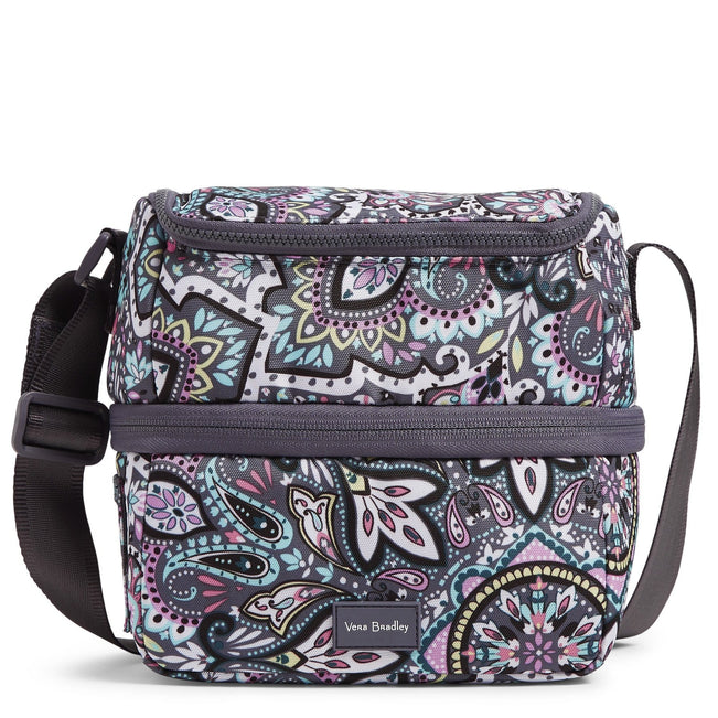 Expandable Lunch Cooler-Bonbon Medallion-Image 1-Vera Bradley