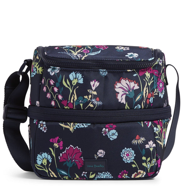 Expandable Lunch Cooler-Itsy Ditsy Floral-Image 1-Vera Bradley
