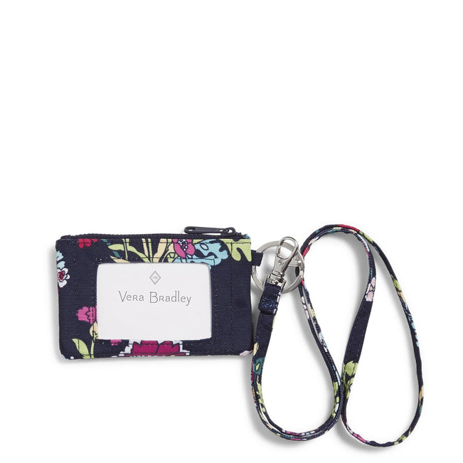 Zip ID Lanyard-Itsy Ditsy Floral-Image 1-Vera Bradley