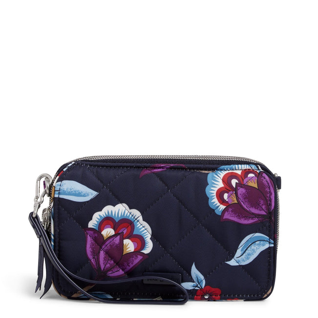 RFID All in One Crossbody-Mayfair in Bloom-Image 1-Vera Bradley
