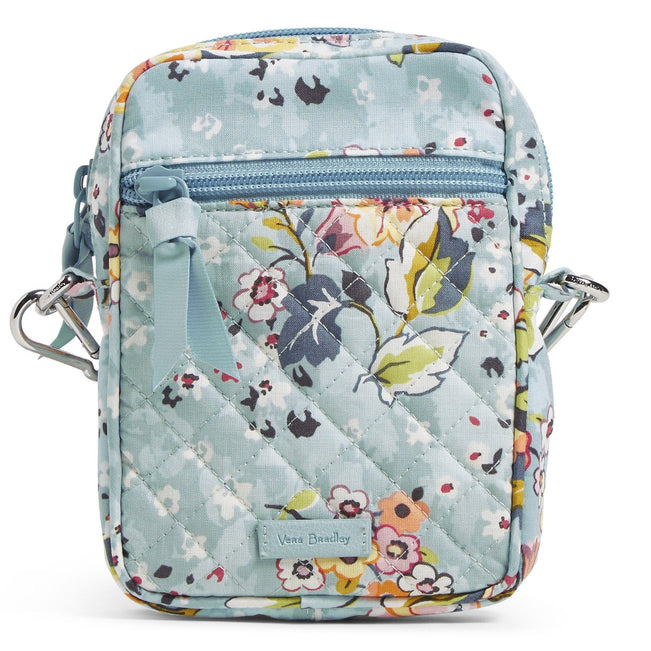 RFID Small Convertible Crossbody Bag-Floating Garden-Image 1-Vera Bradley