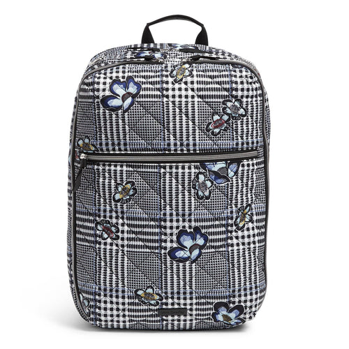 Lay Flat Convertible Backpack-Bedford Plaid-Image 1-Vera Bradley