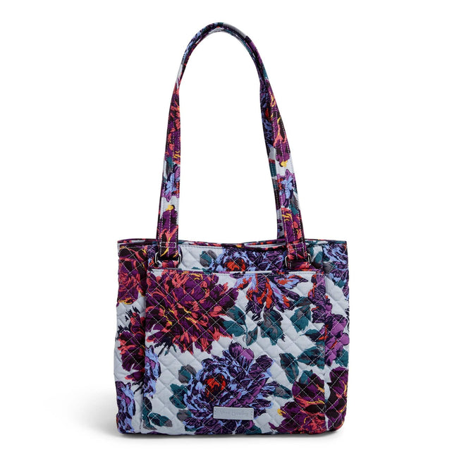 Multi-Compartment Shoulder Bag-Neon Blooms-Image 1-Vera Bradley