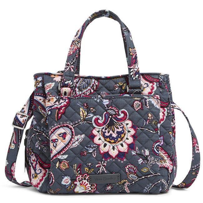 Mini Multi-Compartment Crossbody Bag-Felicity Paisley-Image 1-Vera Bradley