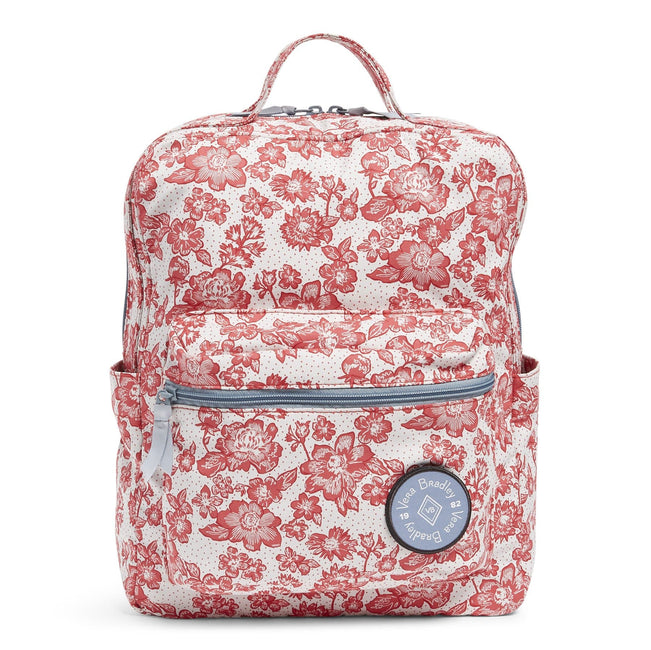 The 1982 Backpack-Rain Garden Red-Image 1-Vera Bradley