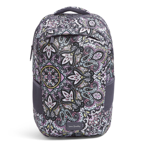 XL Backpack-Bonbon Medallion-Image 1-Vera Bradley