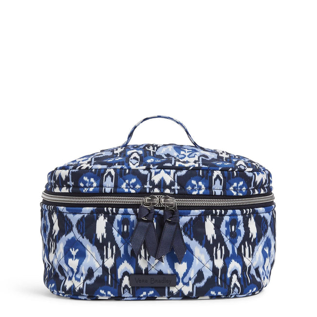Travel Cosmetic Bag-Saguaro Ikat-Image 1-Vera Bradley
