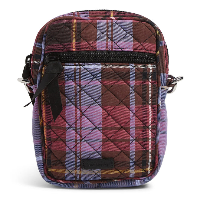 RFID Small Convertible Crossbody-Cozy Plaid-Image 1-Vera Bradley