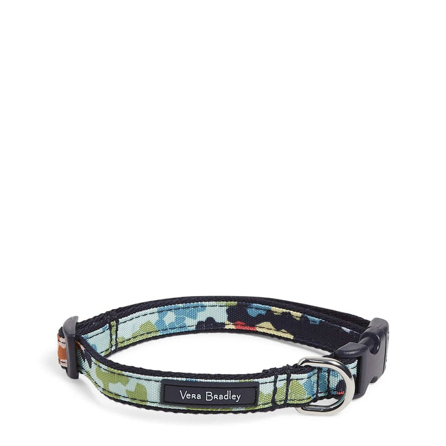 Pet Collar, Small-Happy Blooms Cross-Stitch-Image 1-Vera Bradley