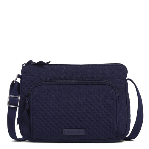RFID Little Hipster-Microfiber Classic Navy-Image 1-Vera Bradley