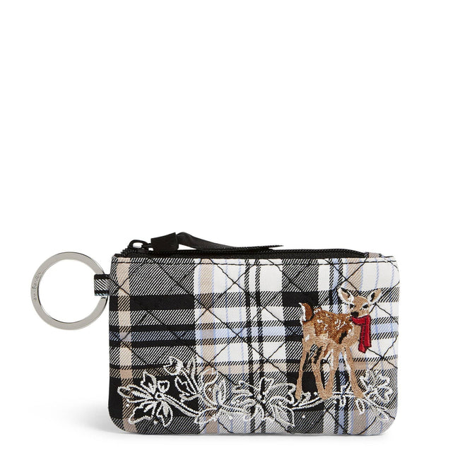 Zip ID Case-Cozy Plaid Neutral-Image 1-Vera Bradley