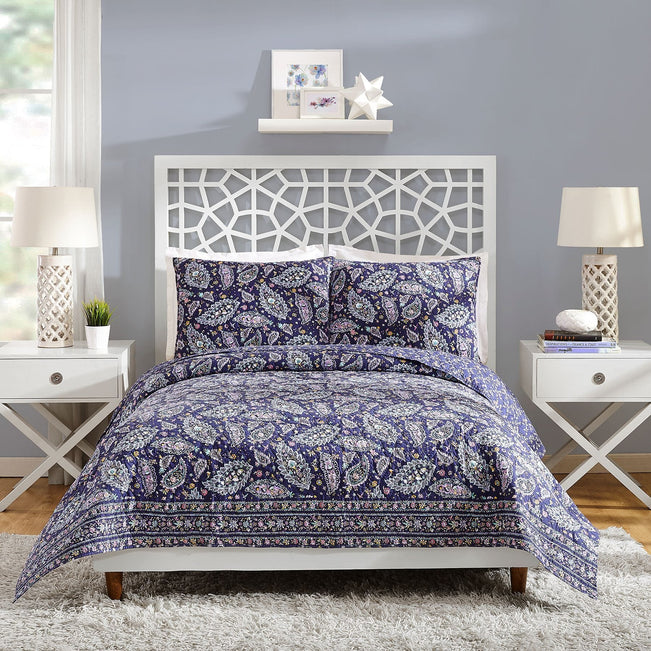 French Paisley Bedding Collection-Image 1-Vera Bradley