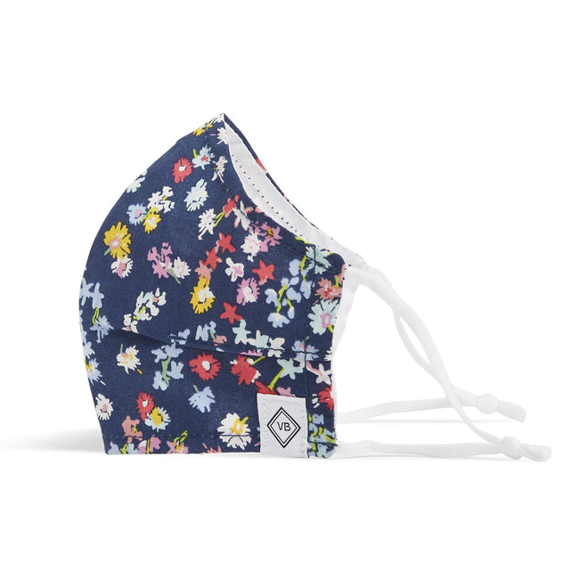 Fitted Mask with Adjusters-Scattered Wildflowers-Image 1-Vera Bradley
