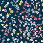 Fitted Mask with Adjusters-Scattered Wildflowers-Image 9-Vera Bradley