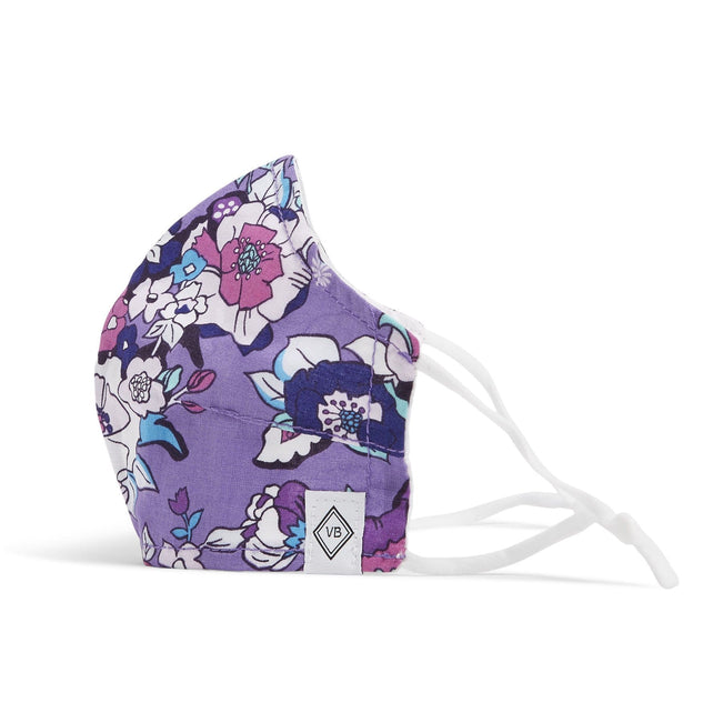 Fitted Mask with Adjusters-Enchanted Garden-Image 1-Vera Bradley