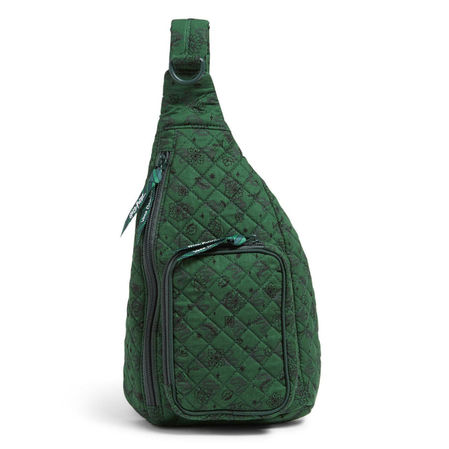 Harry Potter™ Mini Sling Backpack-Slytherin™ Elements-Image 1-Vera Bradley