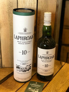 Laphroaig 10 Year Scotch Whiskey