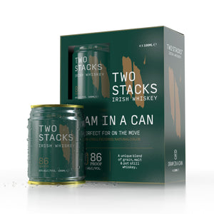 Two Stacks Dram in A Can double 4 pack (8 cans)