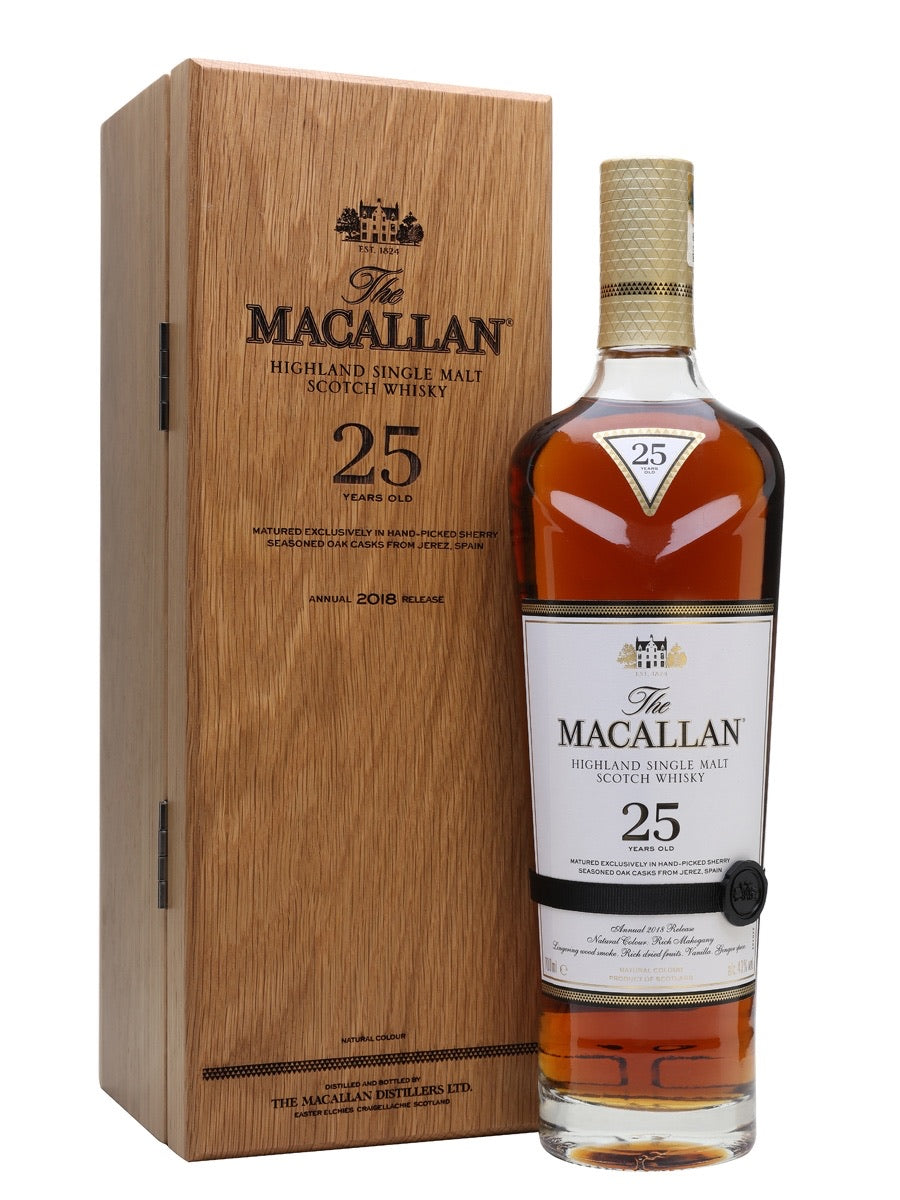 THE MACALLAN 25 YEAR 750ML