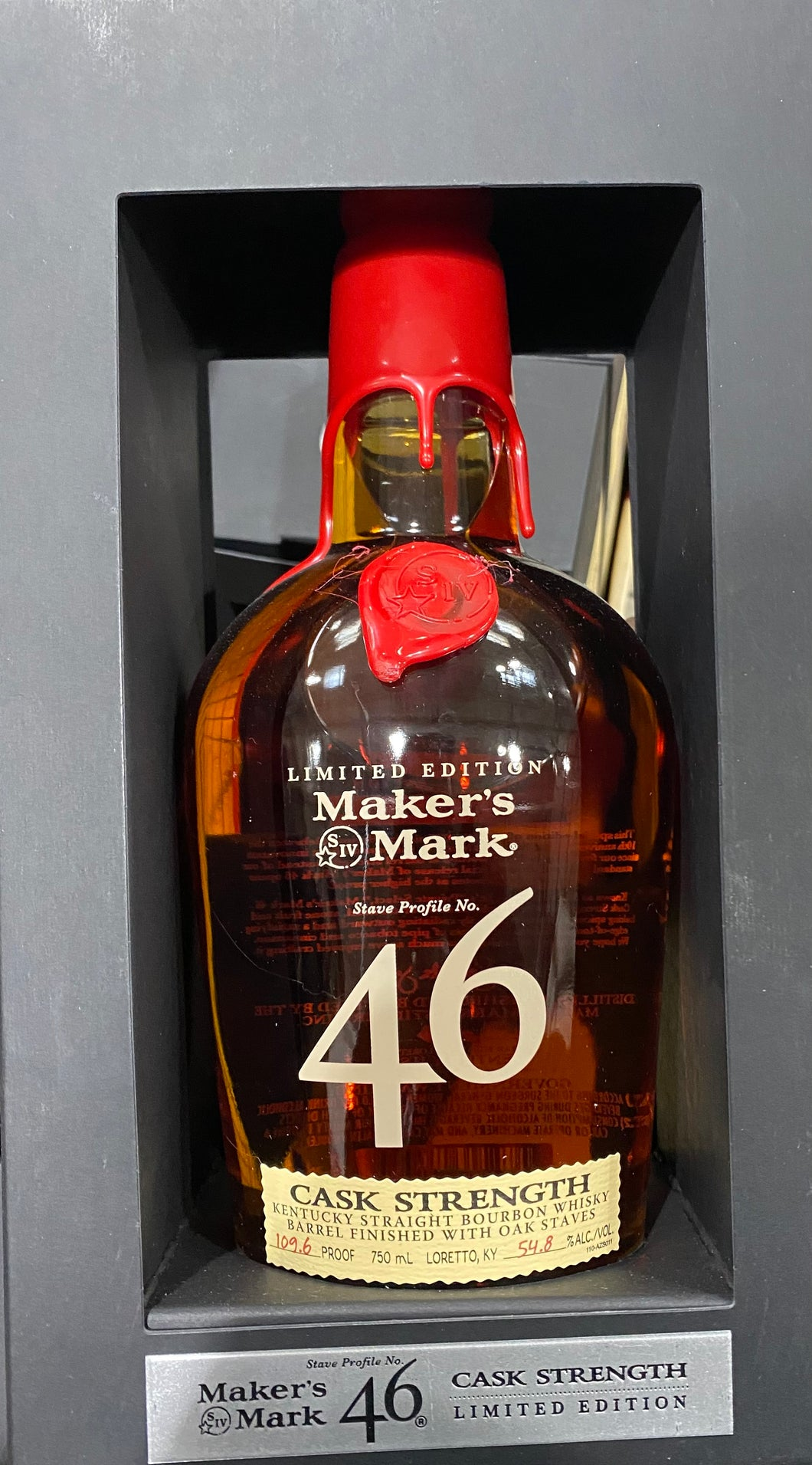 MAKERS MARK 46 CASK STRENGTH LIMITED EDITION 750Ml