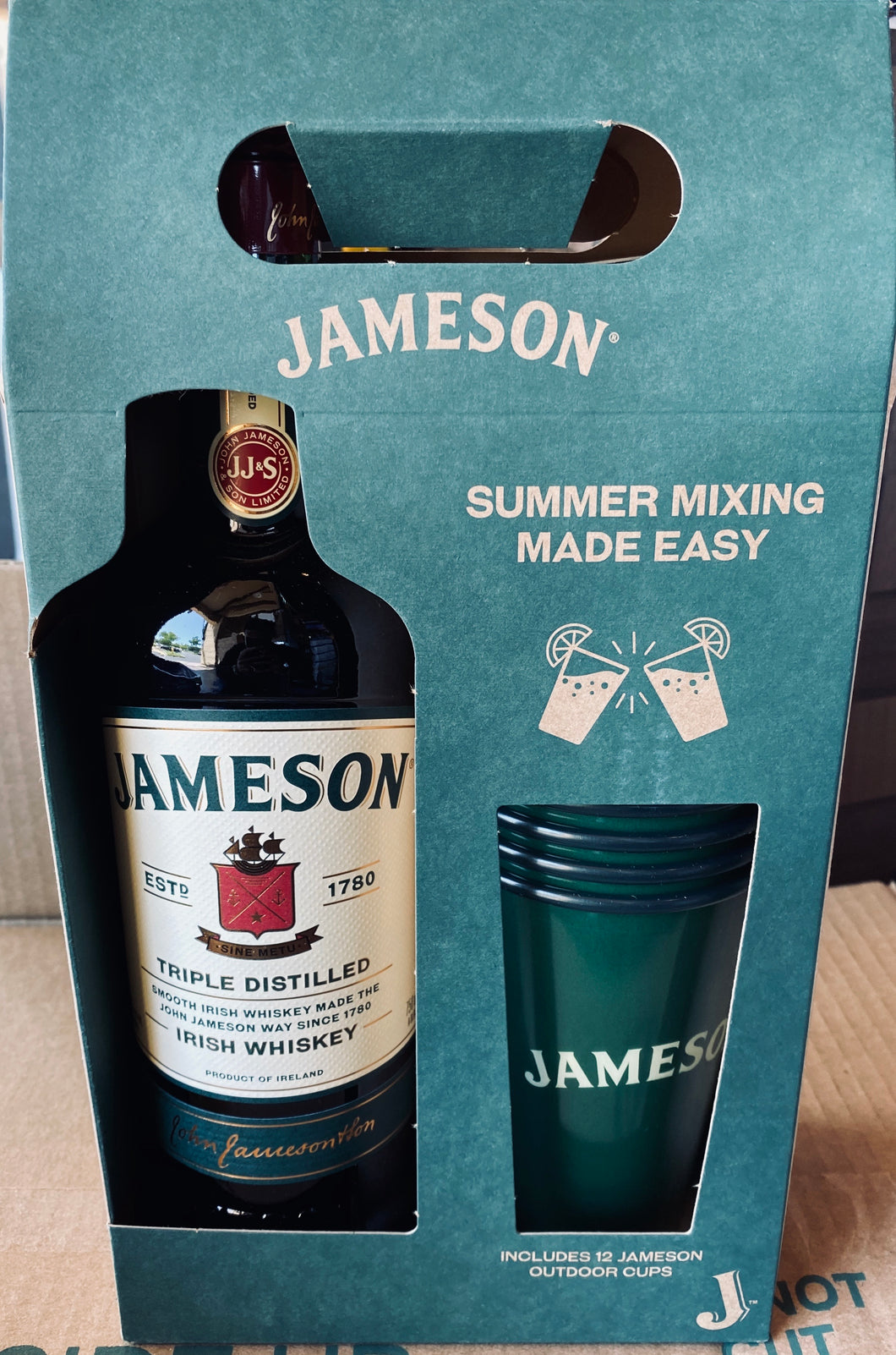 Jameson Irish Whiskey Summer Pack