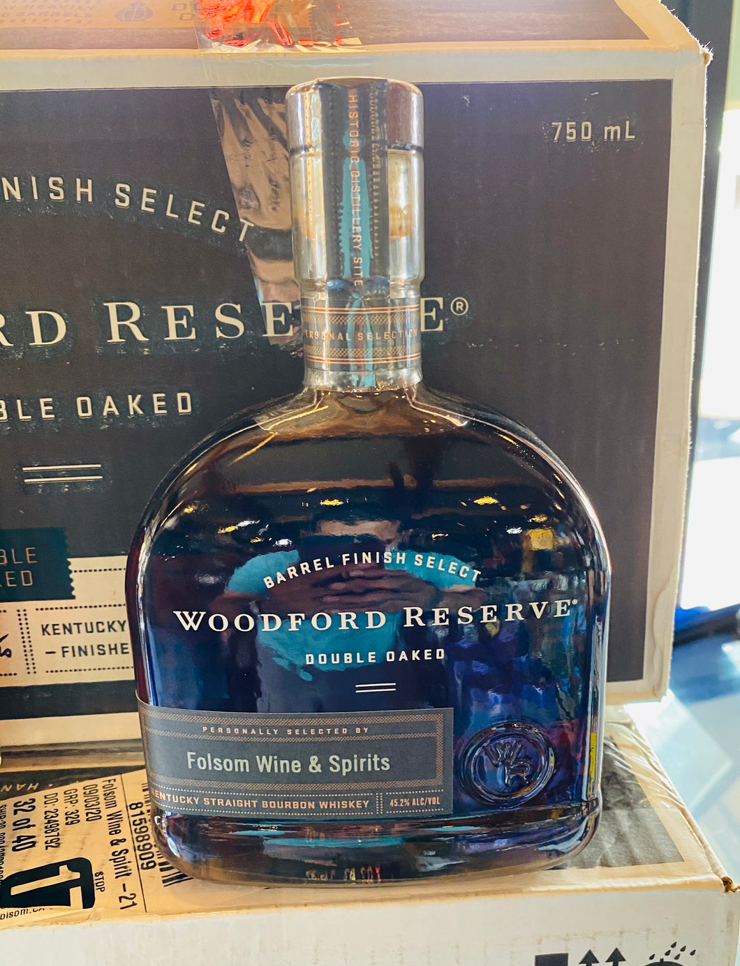 WOODFORD RESERVE DOUBLE OAKED SINGLE BARREL STORE PICK