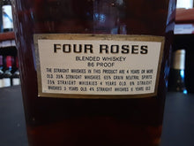 Load image into Gallery viewer, FOUR ROSES  BOURBON HALF GALLON BOTTLES 1966