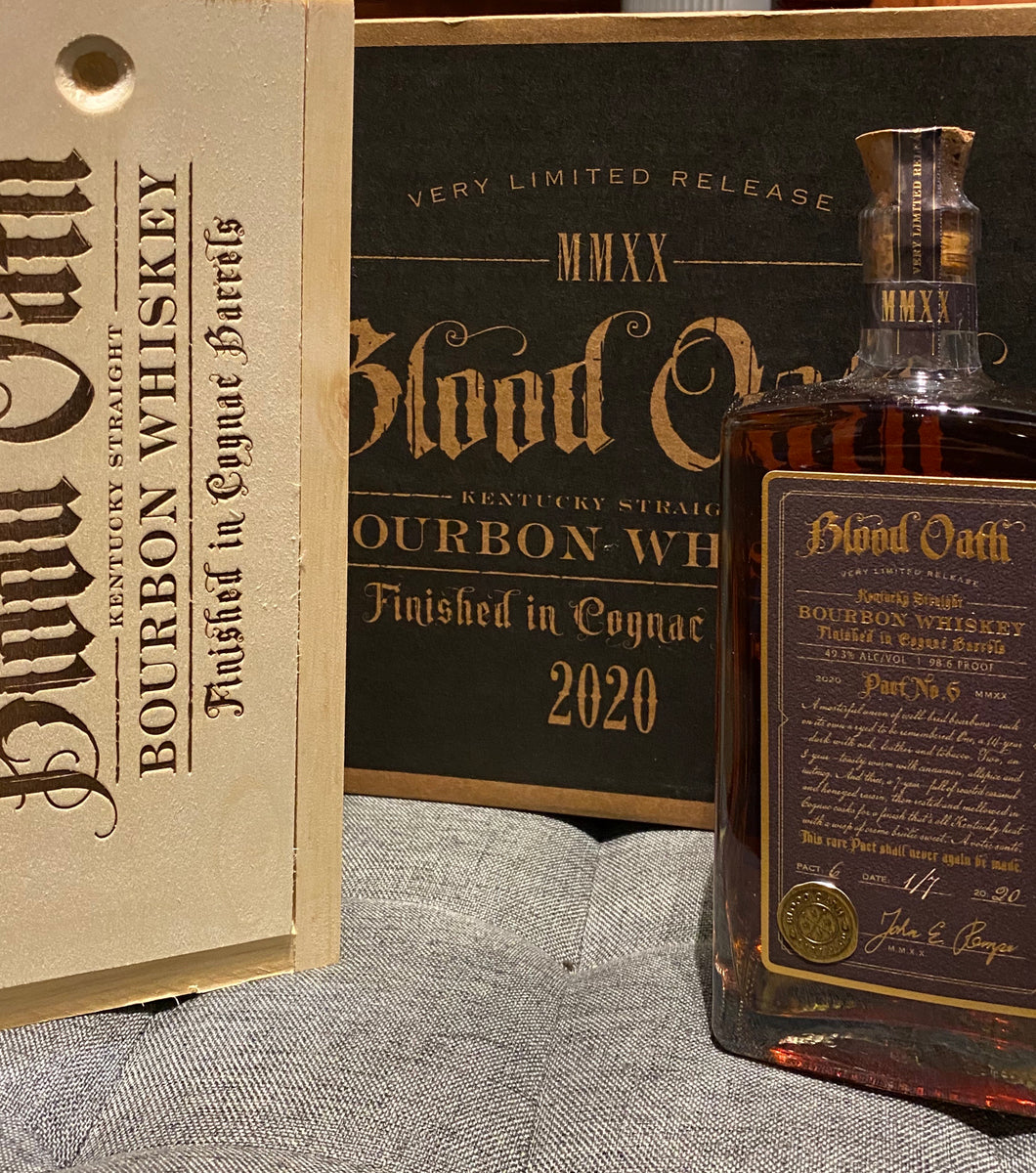 BLOOD OATH BOURBON 750ml