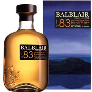 BALBLAIR 1983 HIGHLAND SINGLE MALT