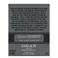 Load image into Gallery viewer, OBAN NIGHTS WATCH 750ML
