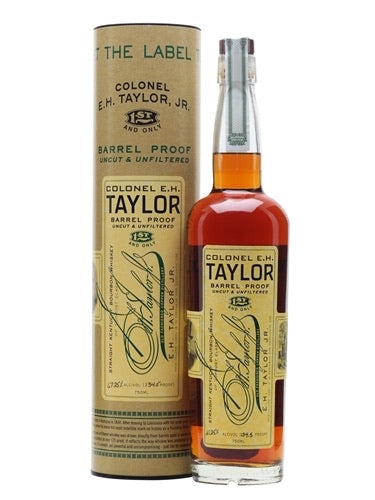 EH TAYLOR BARREL PROOF UNCUT-UNFILTERED 750ml