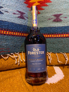 OLD FORESTER SINGLE BARREL BARREL PROOF