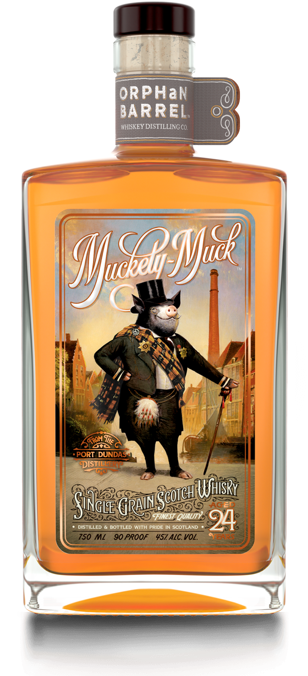 ORPHAN BARREL MUCKETY MUCK 750ML. ON SALE!