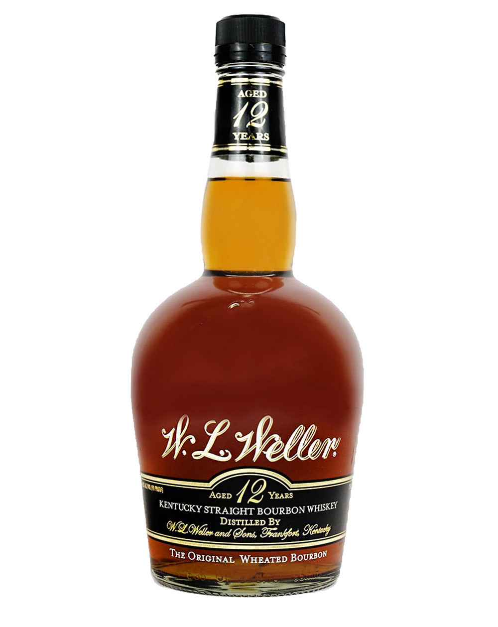 W.L WELLER 12 OLD LABEL 750 ML