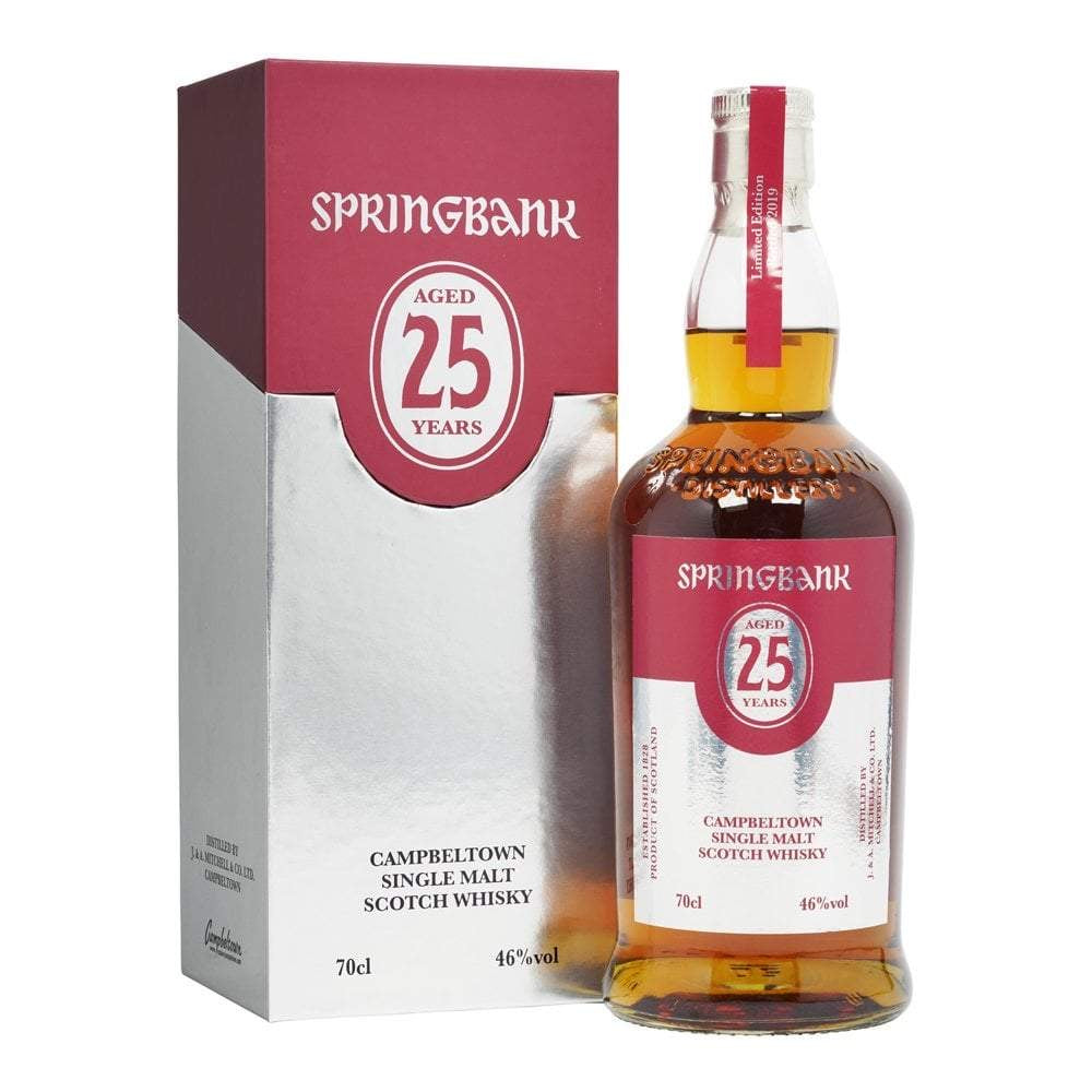 SPRING BANK 25 YEAR 750ML