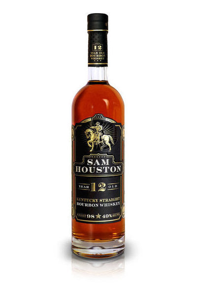 SAM HOUSTON 12 YEAR 750ML