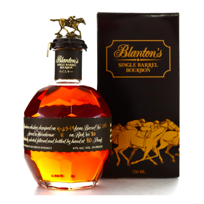 BLANTONS BLACK 750ML JAPAN BOTTLING ON SALE!