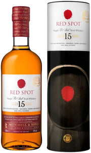 RED SPOT 15 YEAR 750ML