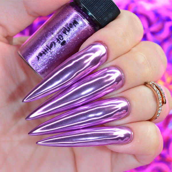 WG Voyager Light Purple Nail Chrome
