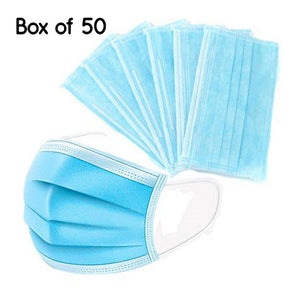 Hygiene  Disposable Face Masks 50pk