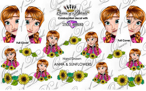 9. Anna & Sunflowers