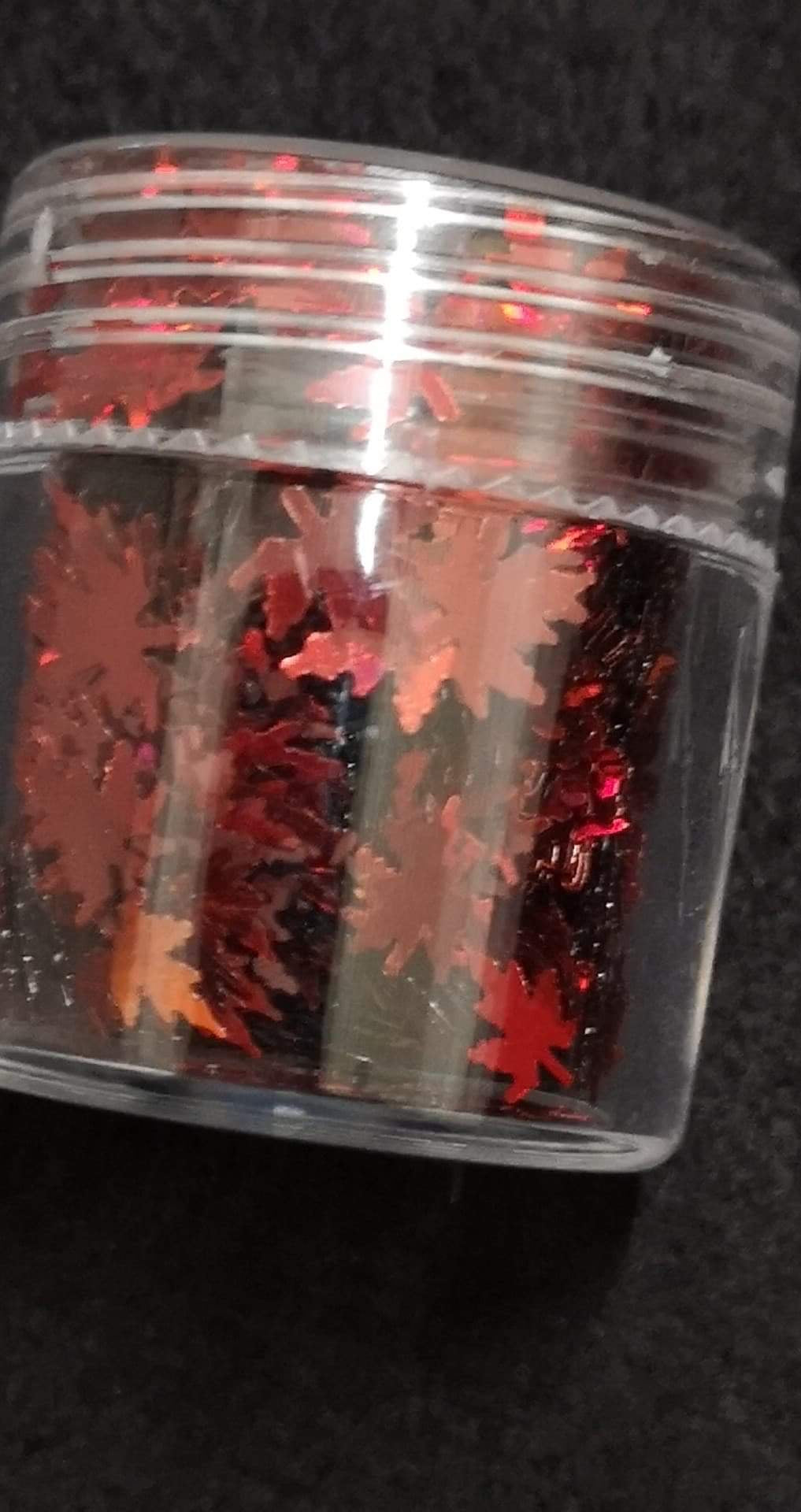 Red Leaves- Tub
