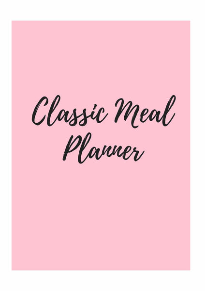 Classic Meal Planner Bundle