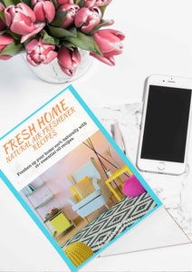 Fresh Home - DIY Air Freshener Recipes eBook (32 Pages!)