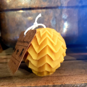 Beeswax round Candles