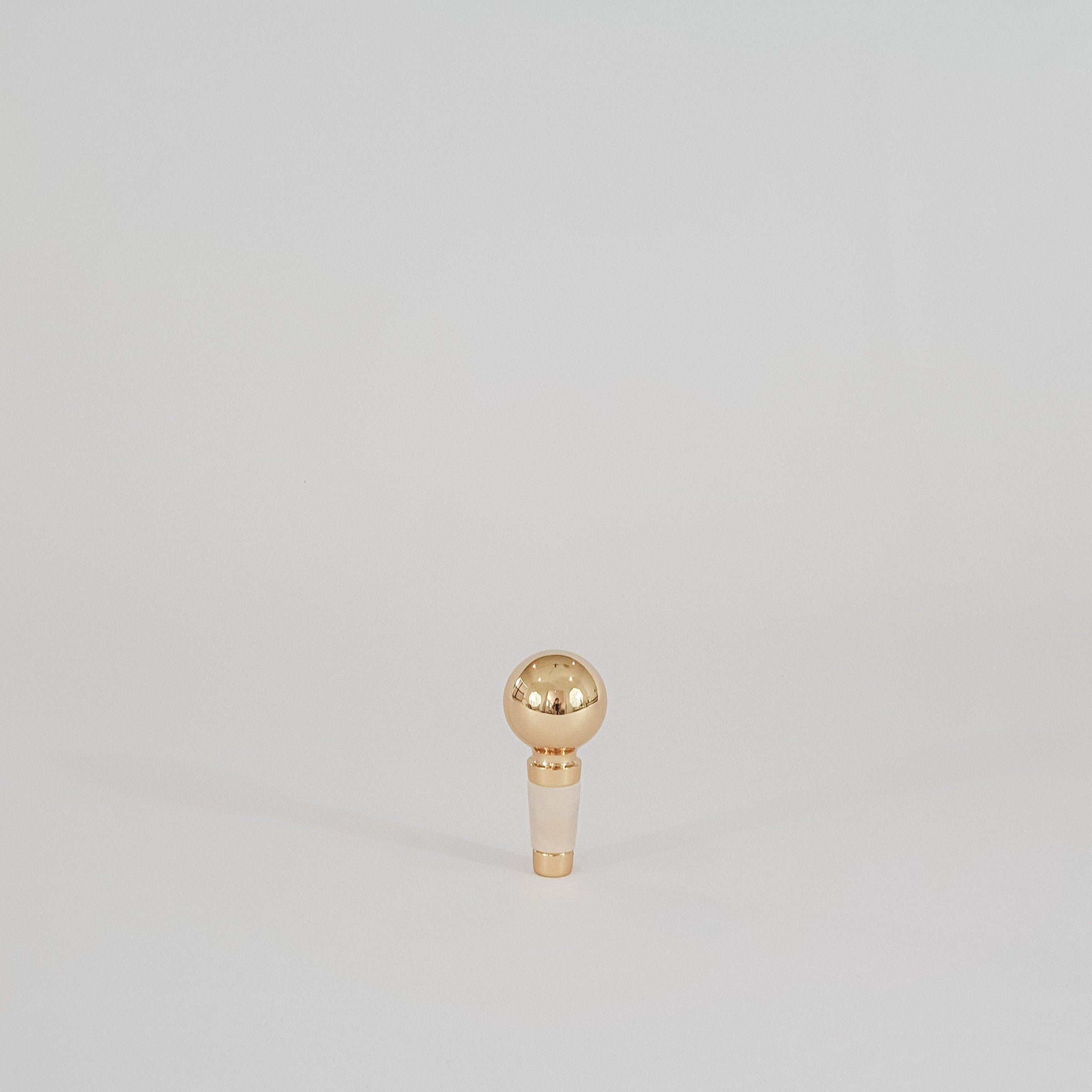 Brass Bottle Stopper - KM Home