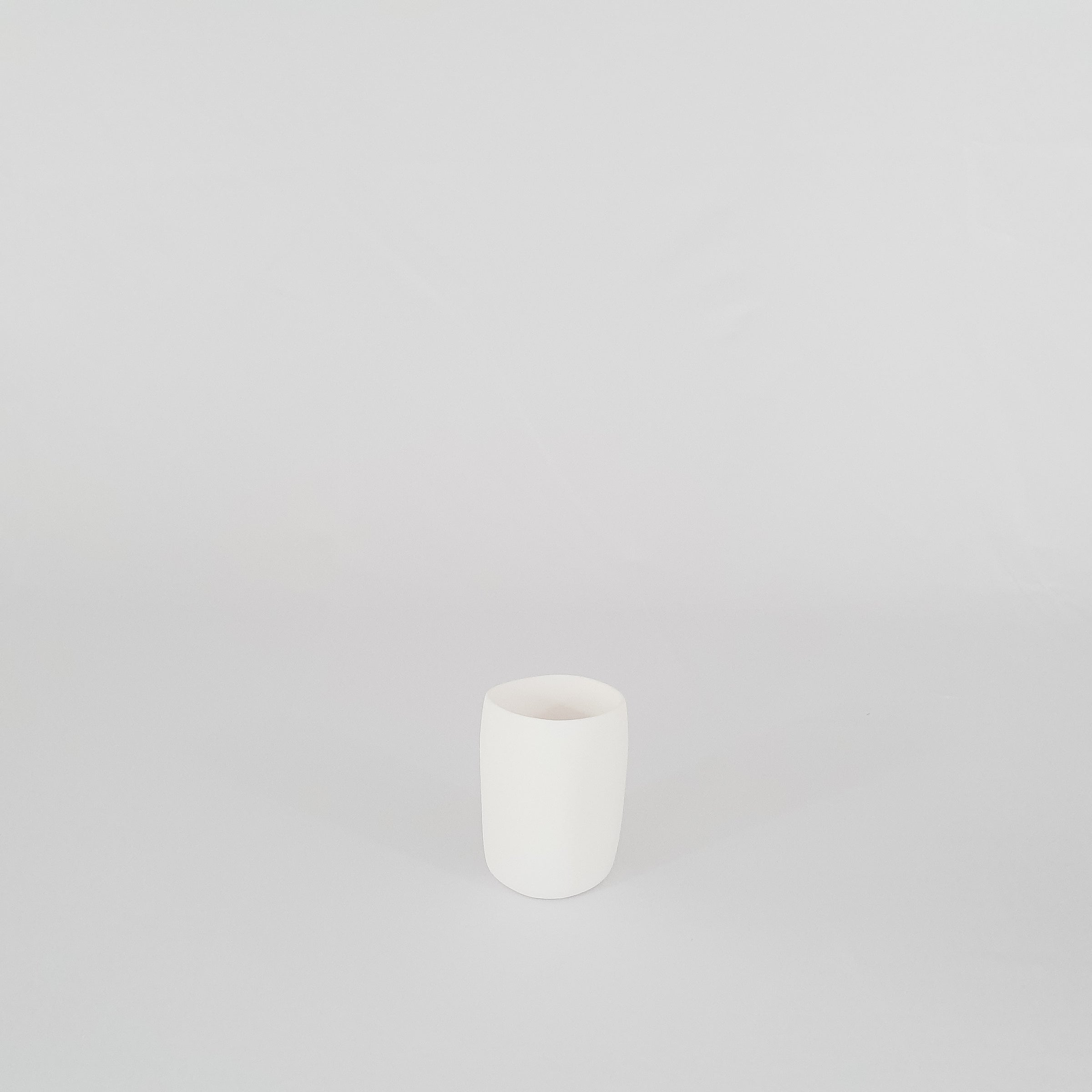 White Resin Cup Holder