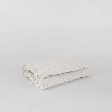 Crush Double Linen Throw